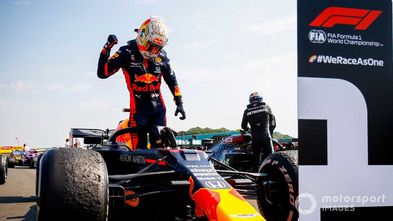 Max Verstappen wins 70th Anniv British GP 2020