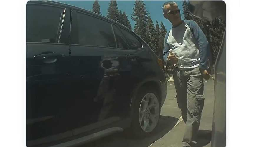 Tesla Sentry Mode Catches Model 3 Vandal At Tuolumne Grove In Yosemite