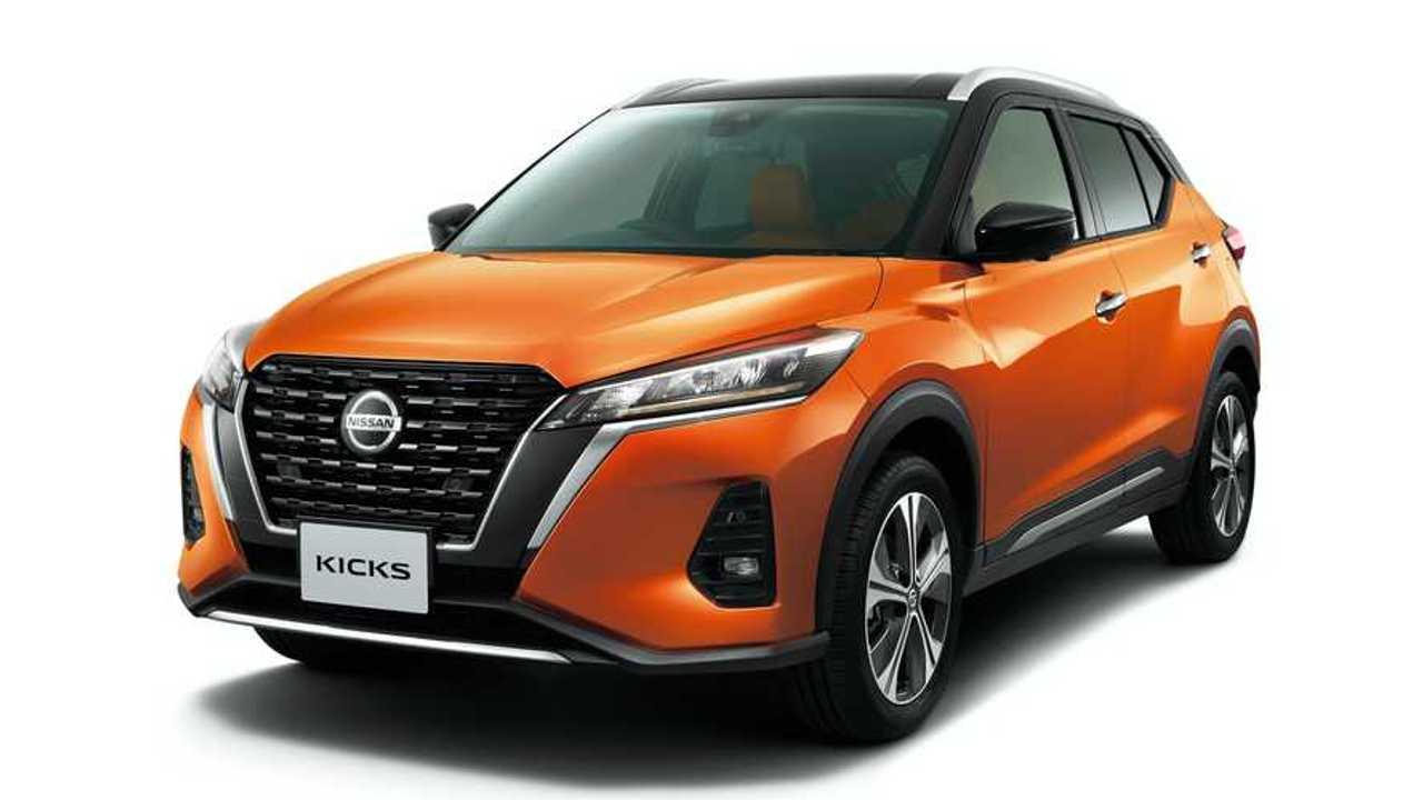 Novo Nissan Kicks 2021 - Japão