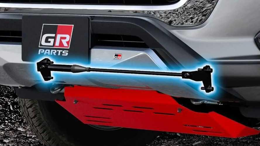 Toyota Hilux 2021 Aksesoris Gazoo Racing