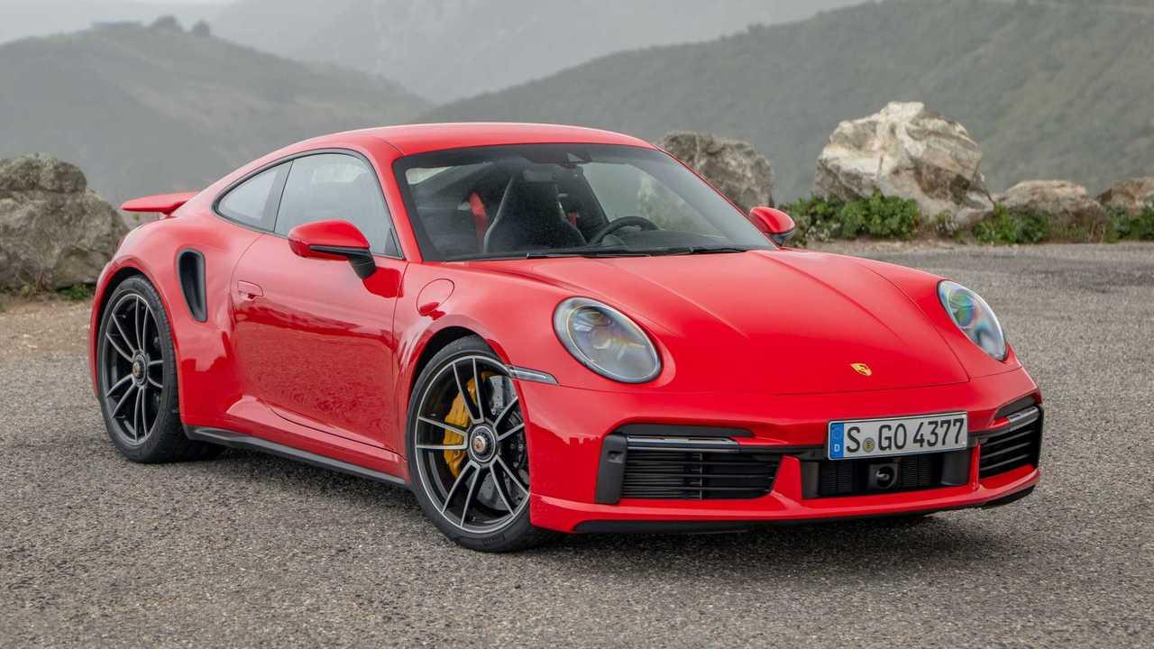 2020 Porsche 911Turbo S