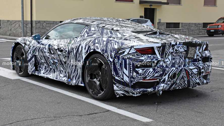2021 Maserati MC20 new spy photos