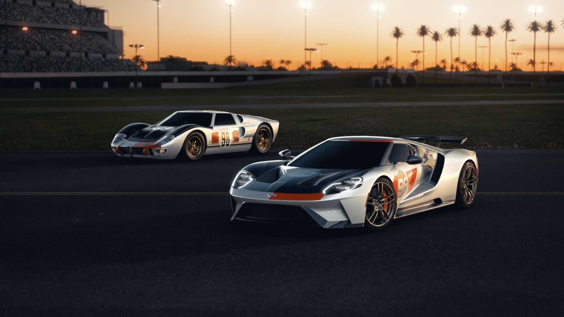 2021 Ford Gt Heritage Edition Celebrates Ken Miles 1966 Daytona Win