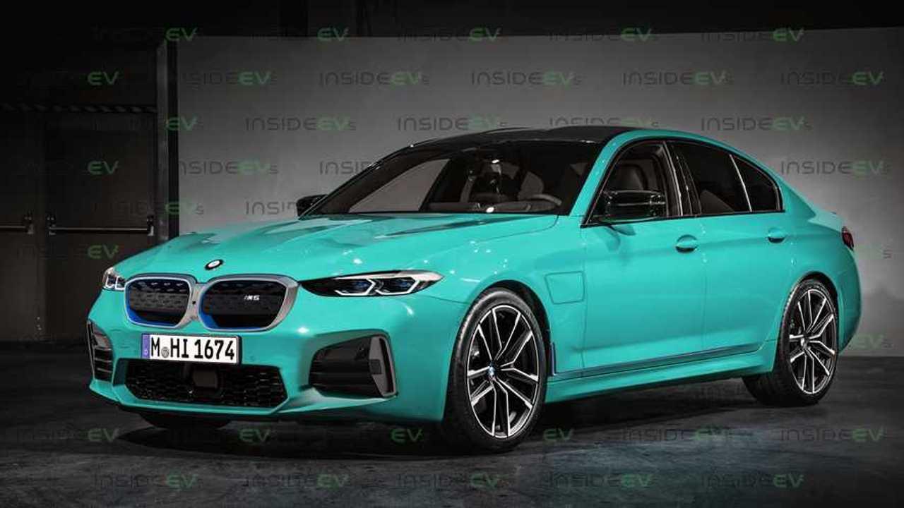 BMW M5 electrified
