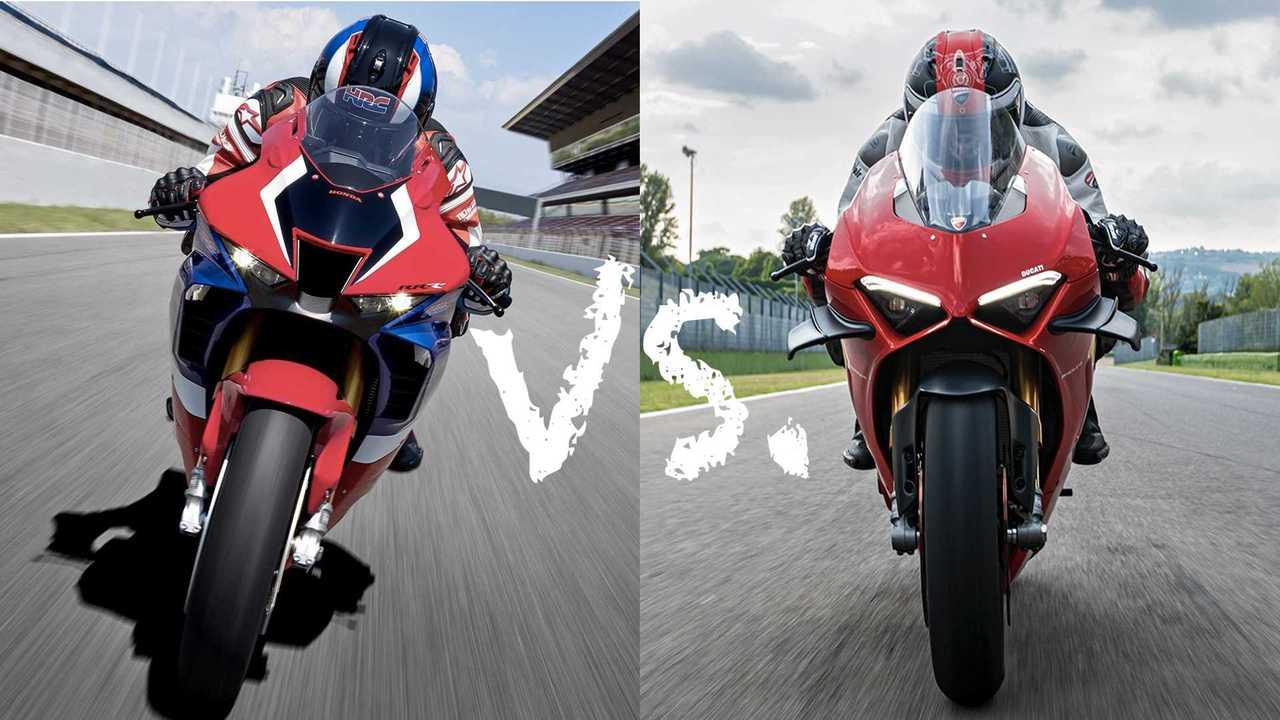 Honda Fireblade vs Ducati Panigale
