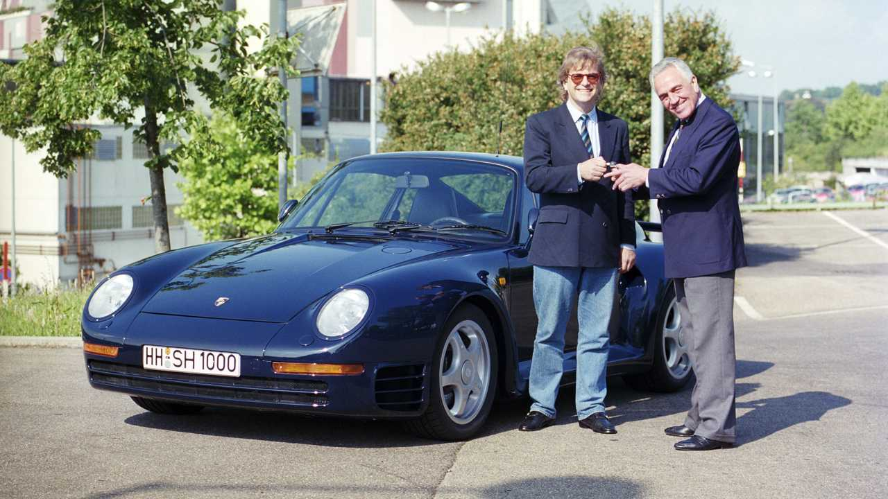 70 aniversario de la recogida de modelos Porsche en la fábrica