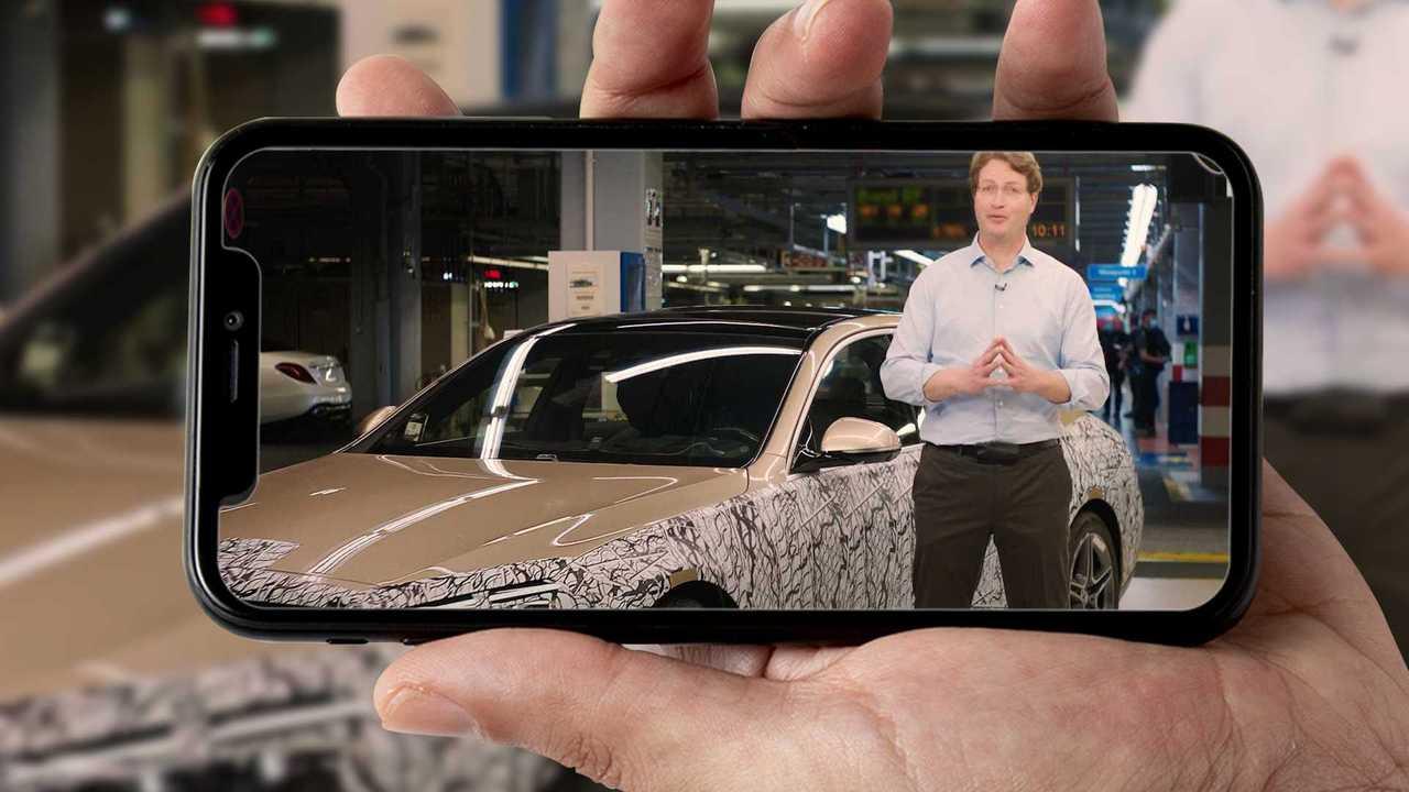 Mercedes Classe S teaser