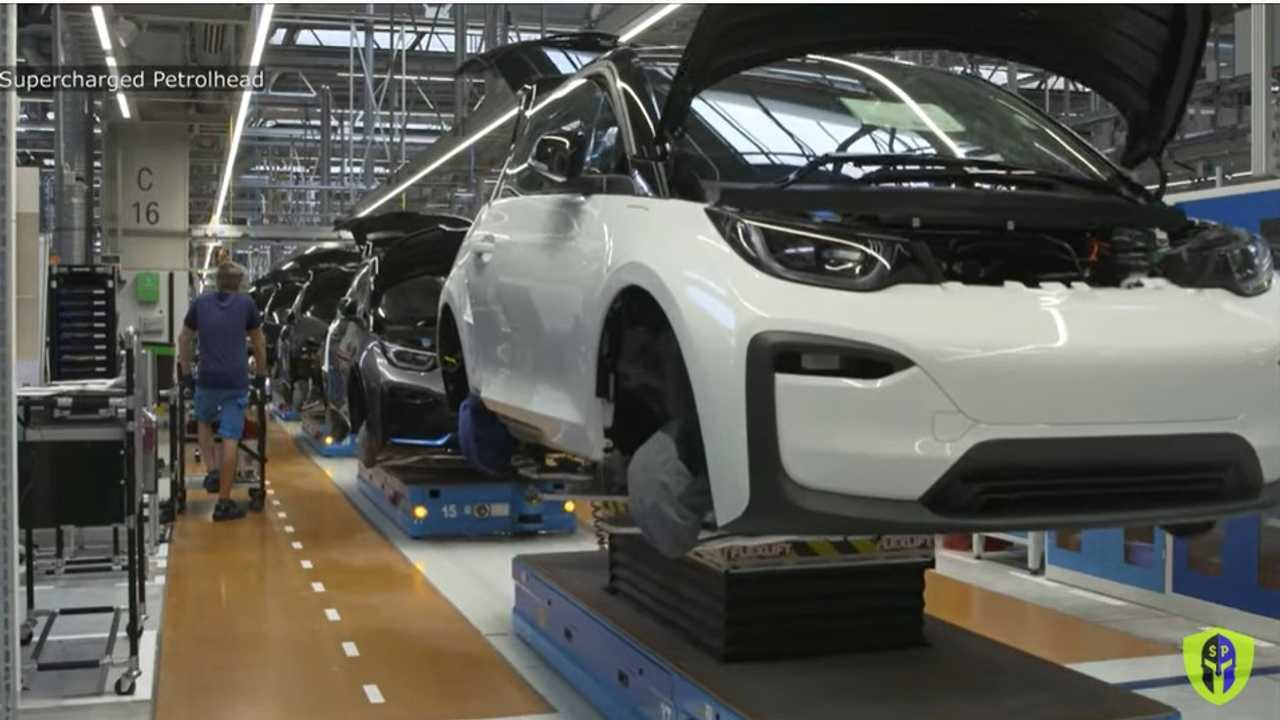 Check Out This Fascinating Bmw I3 Leipzig Factory Assembly Line Video