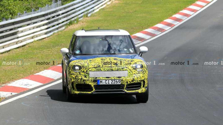 Mini Countryman Spied Testing At The Nurburgring