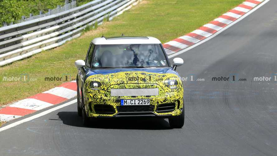 Mini Countryman Spied Testing At The Nurburgring