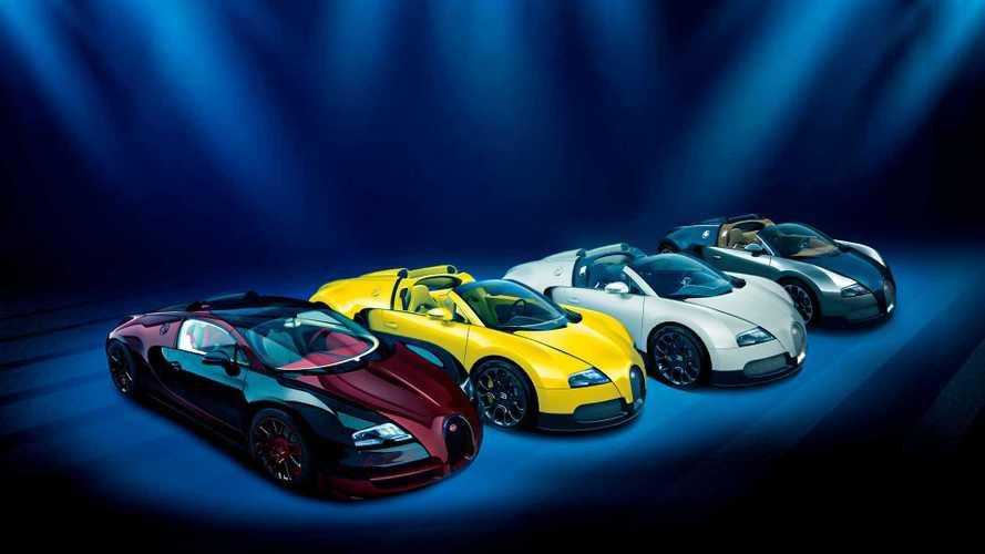 Bugatti Veyron, tutte le hypercar più uniche che rare