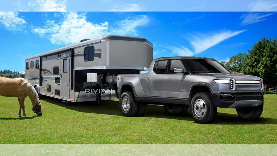 Rivian R1T HD Heavy Duty: This Rendering Shows A Brawny Electric Pickup Truck