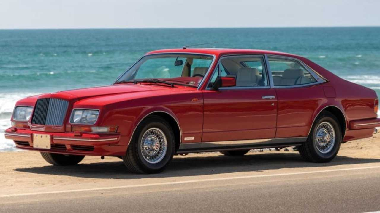 This odd-looking Bentley 'Empress' has lived a pampered life