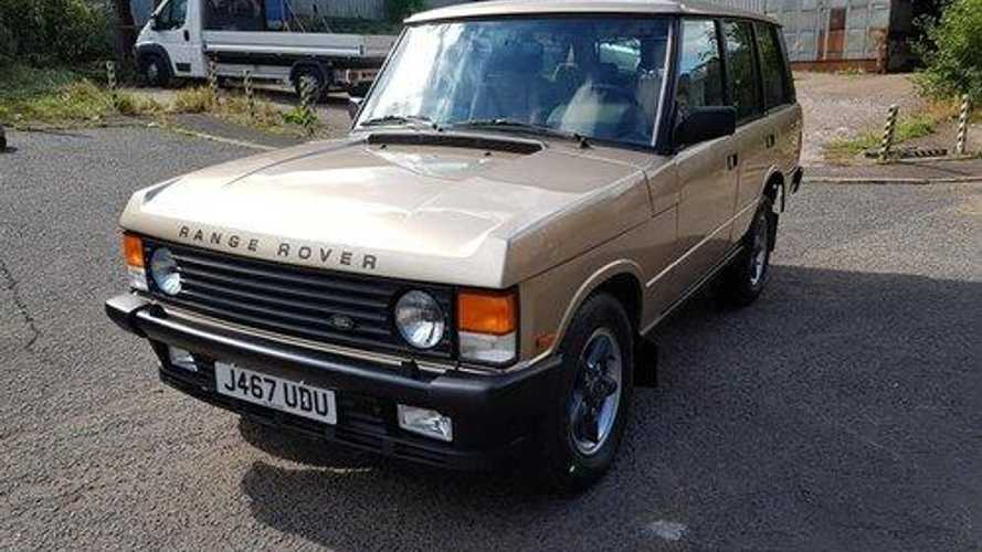 Escape 4x4 stereotypes with this pre-production Range Rover