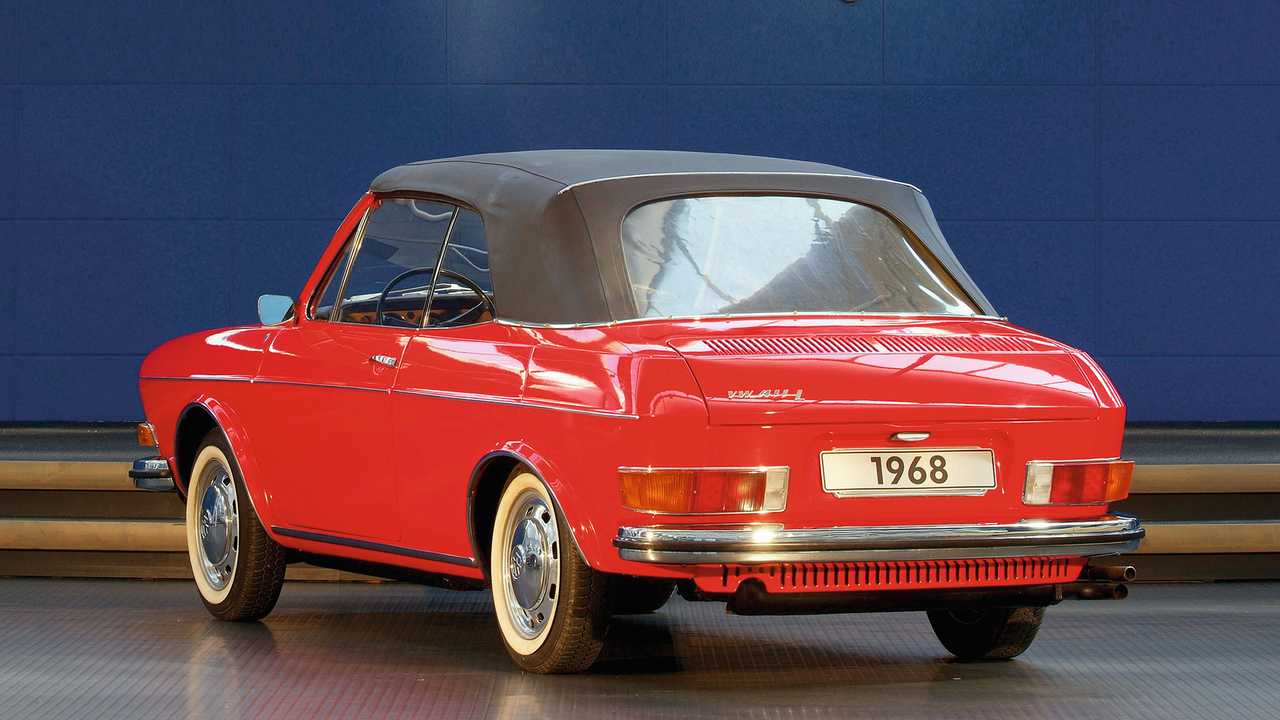 VW 411 Cabriolet (1968)