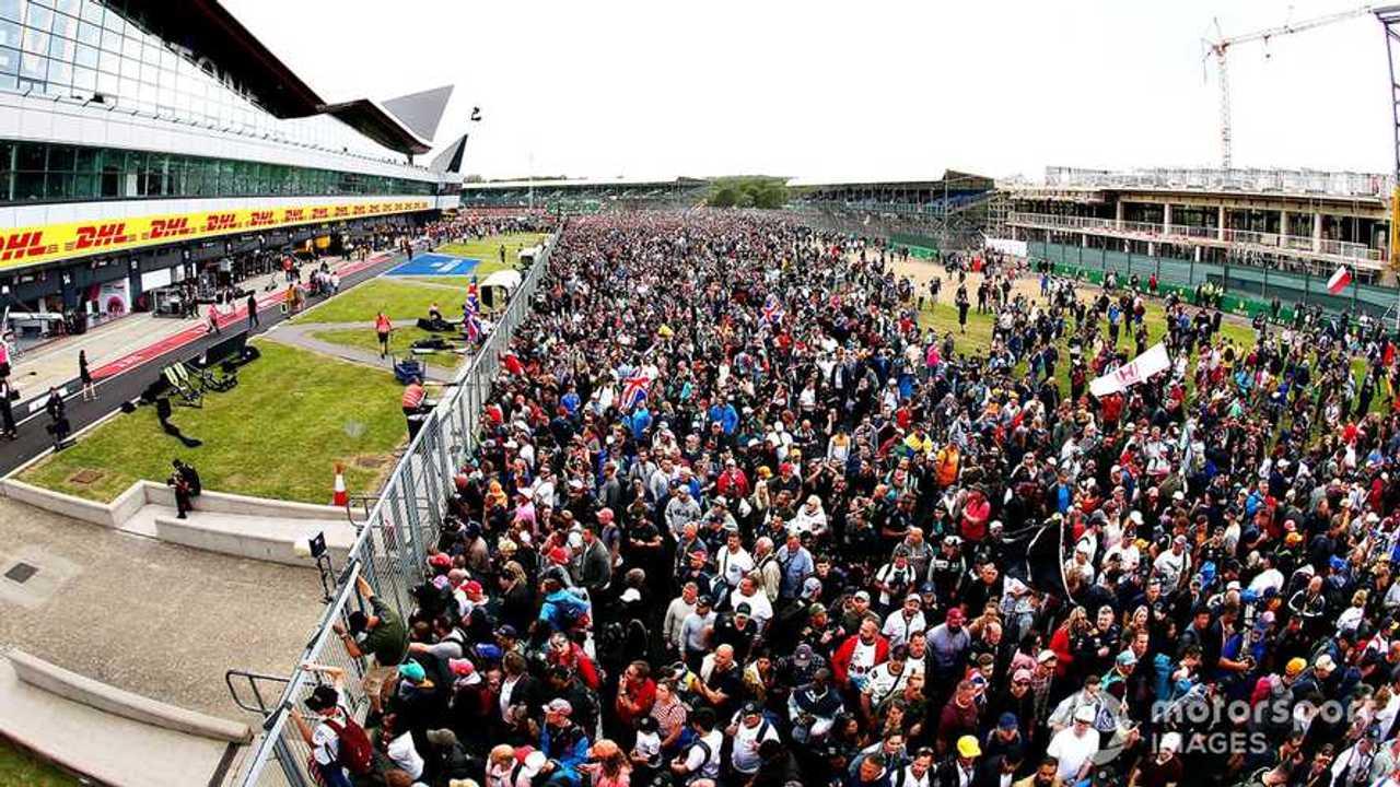 Fans at Silverstone British GP 2019