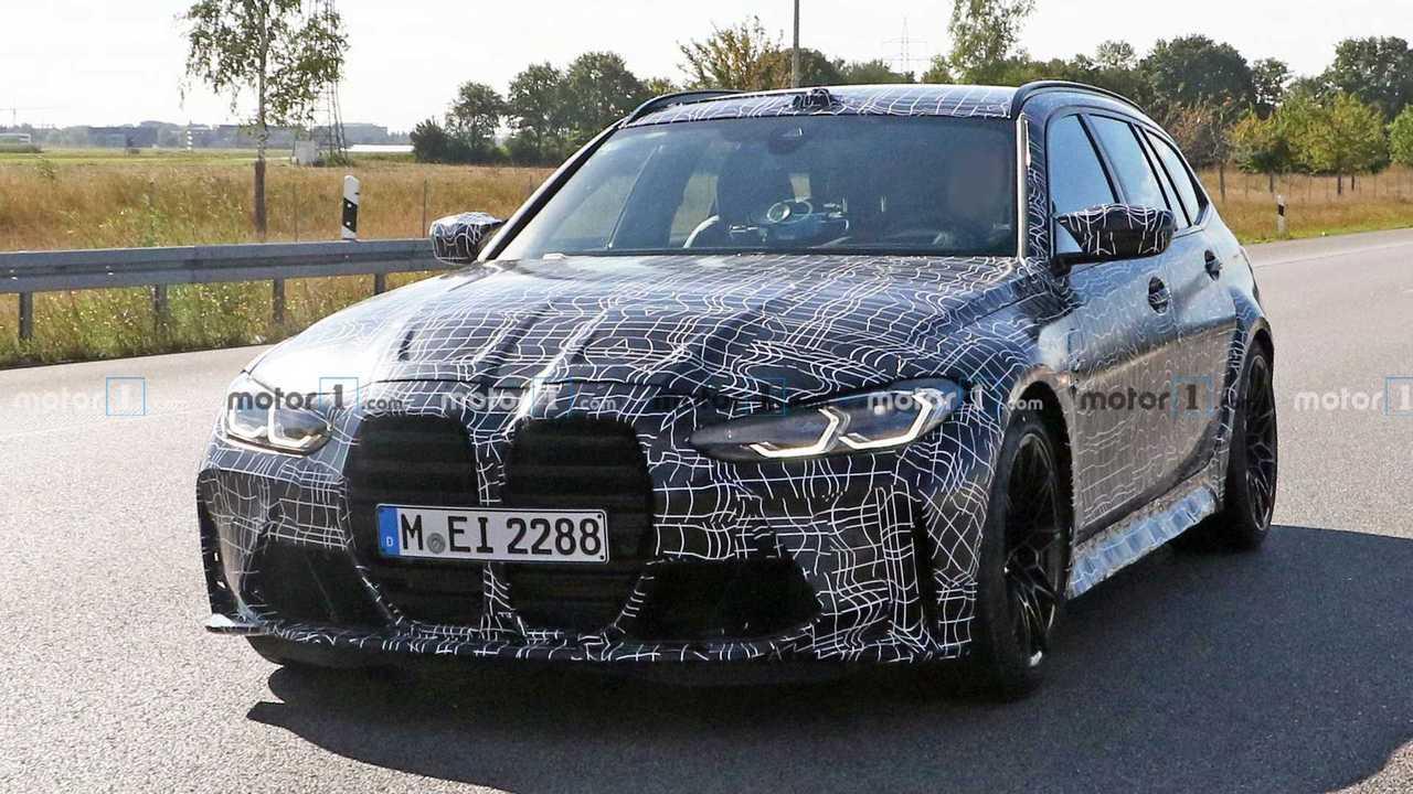 BMW M3 Touring Wagon Spy Shots
