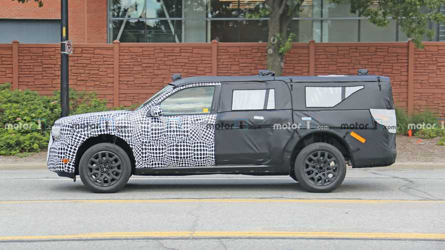 Mystery Three-Row Ford SUV Spied Driving Around Dearborn
