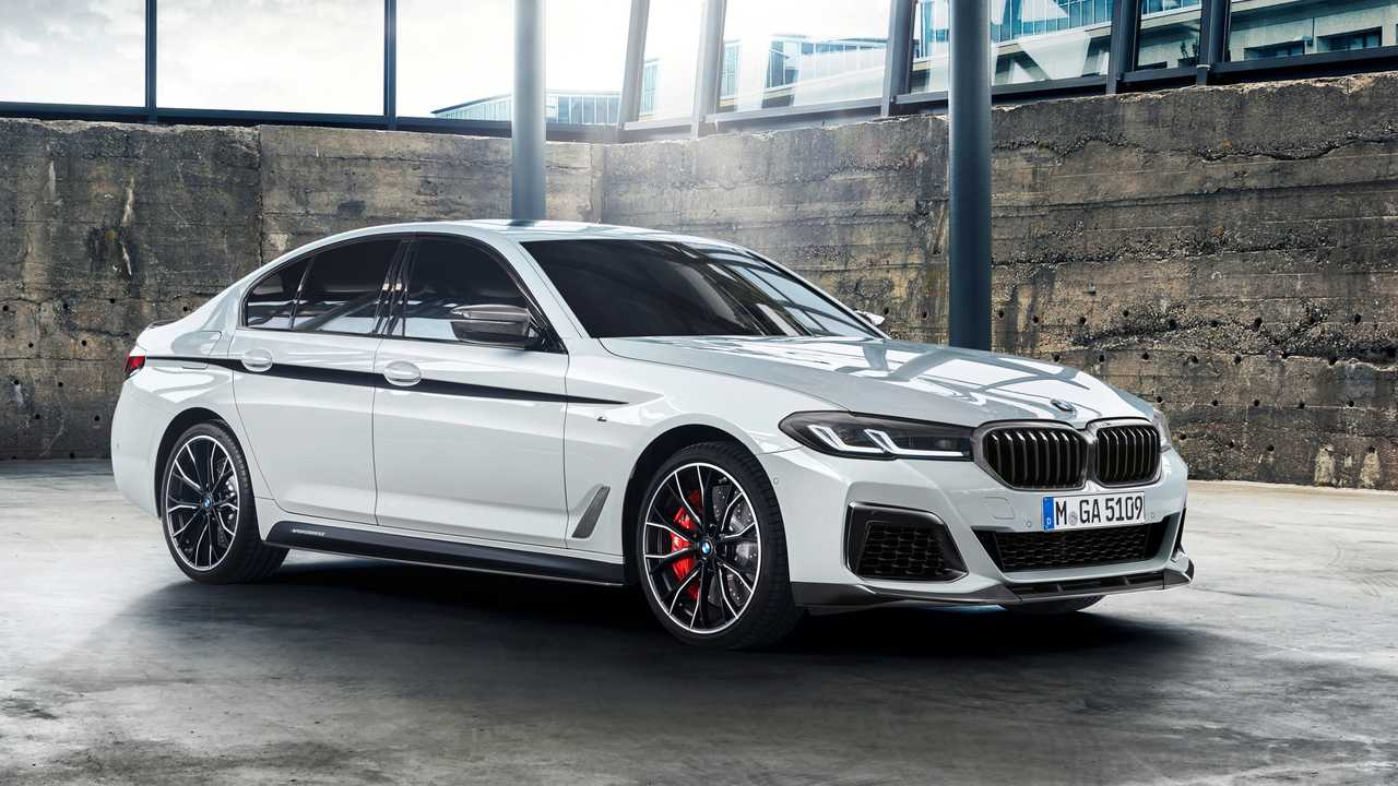 BMW Serie 5 2020 con M Performance Parts
