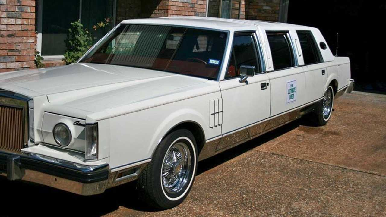 1980 Lincoln Mark VI limousine for sale