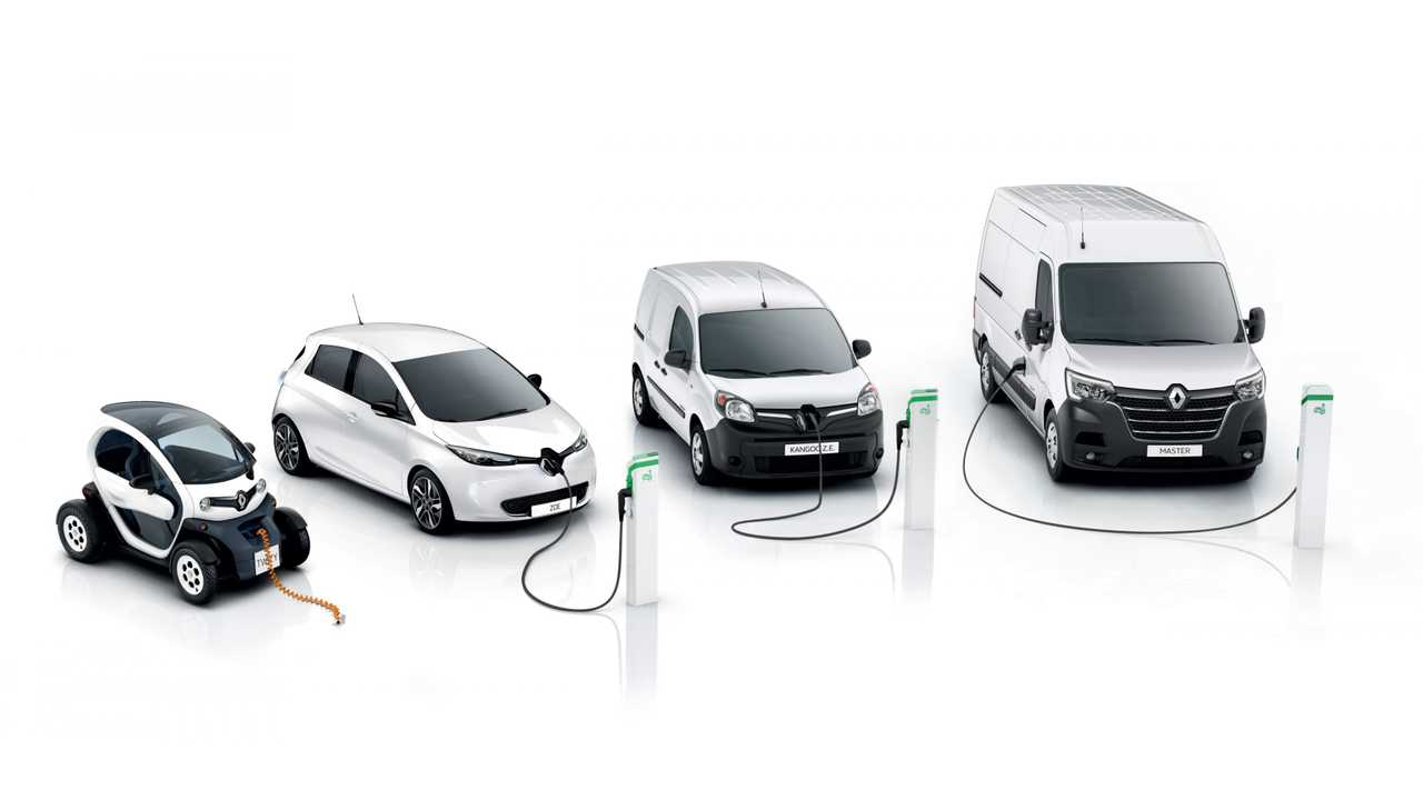 Renault electric vehicles 2019