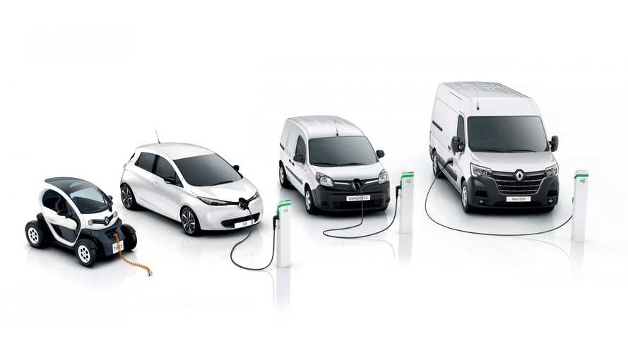 Renault electric vehicle sales top 300,000 in Europe