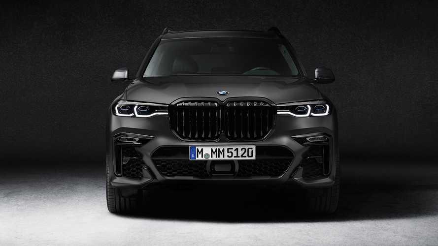 «Очень темный» BMW X7 уже оценили в рублях
