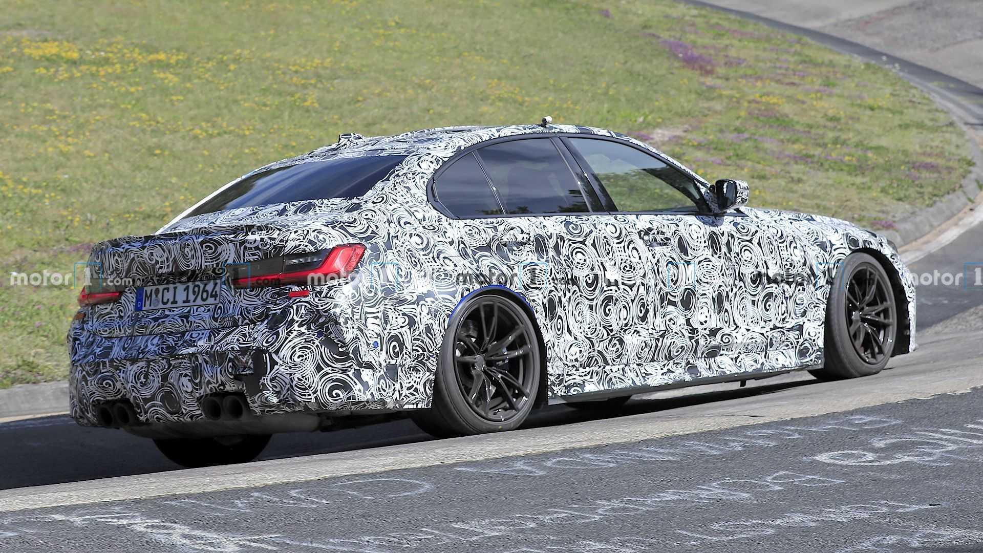2020 - [BMW] M3/M4 - Page 18 Bmw-m3-spy-photos-rear-3-4