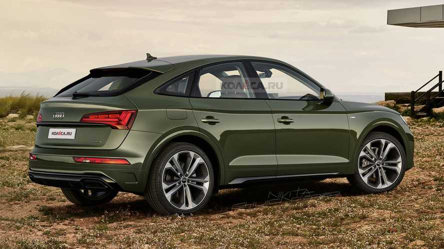 2021 Audi Q5 Sportback Adds Style, Loses Practicality In New Rendering