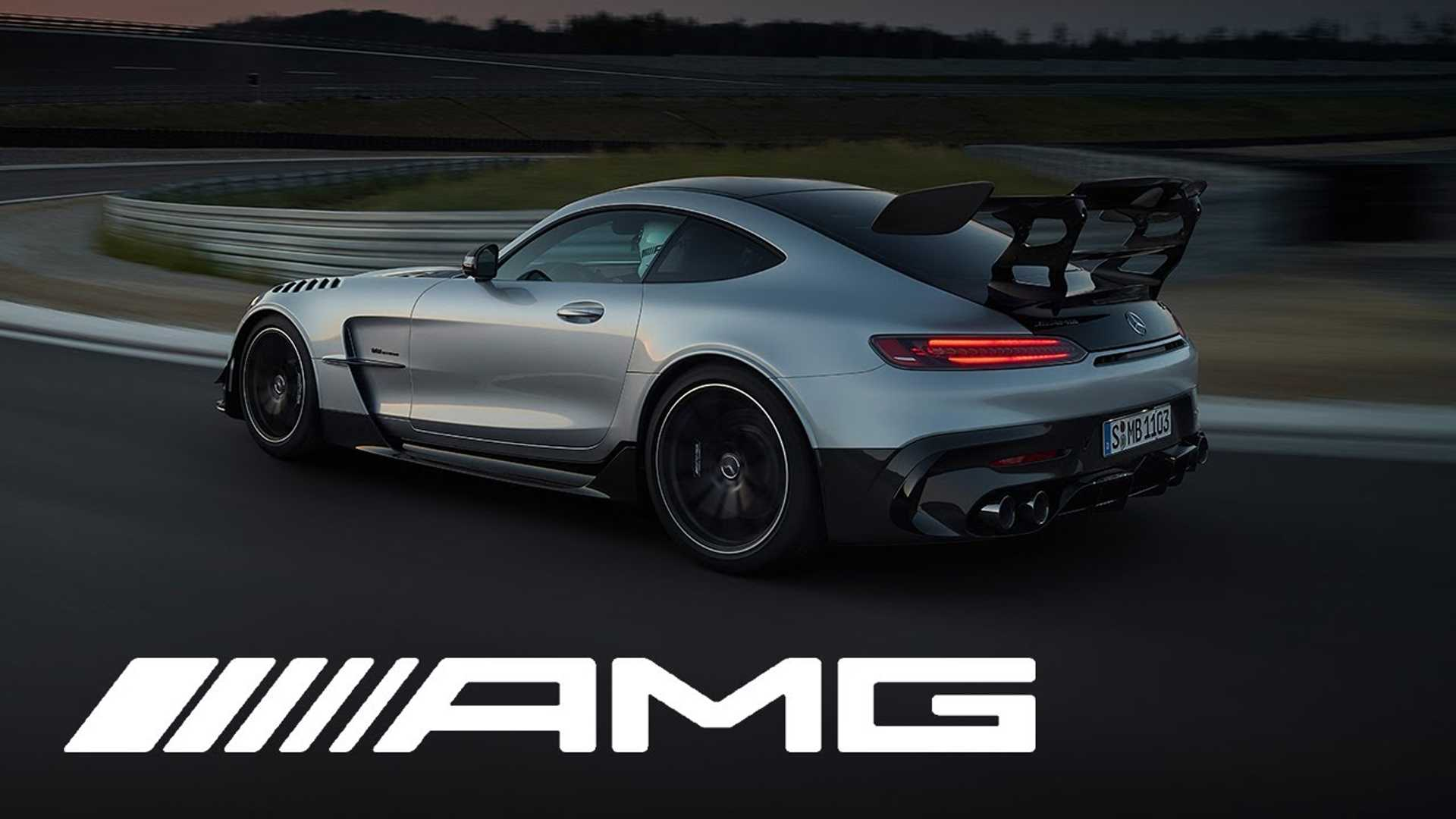 Mercedes-AMG GT Black Series stolen by Shmee150 in official debut vid