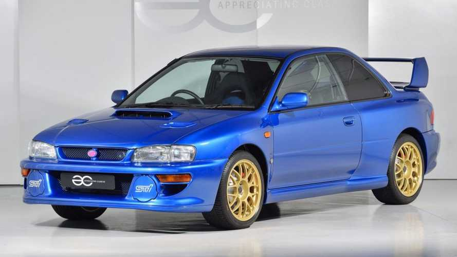 This Barely Driven 1998 Subaru Impreza 22B STi Is A JDM Goldmine