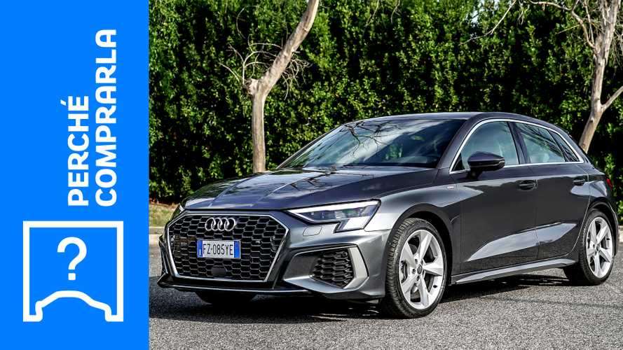 Audi A3 Sportback (2020), perché comprarla e perché no
