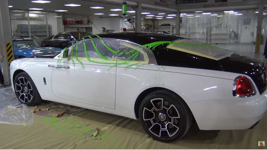 Watch Supercar Blondie Paint Her Rolls-Royce Neon Green With Pendulum