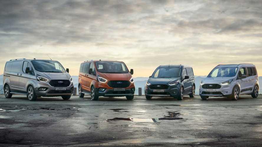 Ford, le versioni Active ora anche per Transit e Tourneo Connect