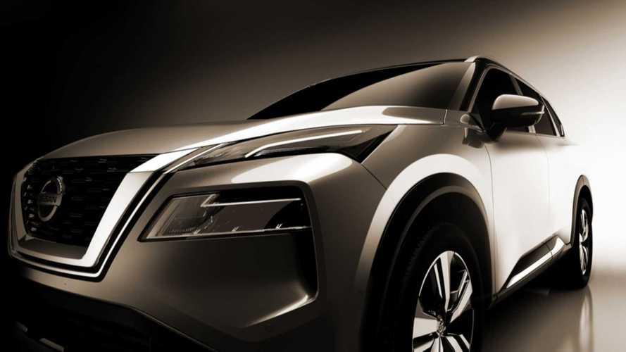 2021 Nissan Rogue Teased Ahead Of June 15 Debut