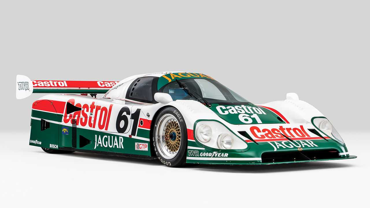 Jaguar XJR-9 Groupe C (1988) - 1,88 million d'euros