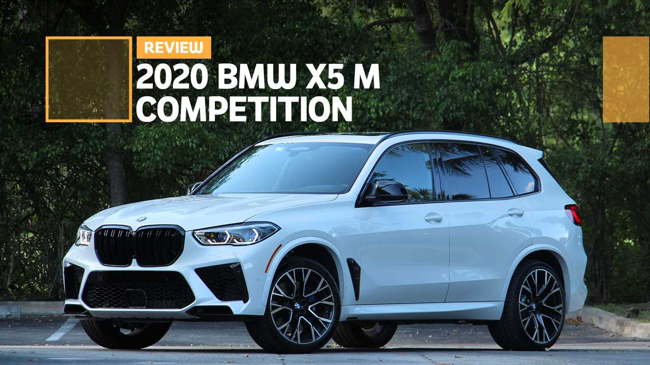 2020 BMW X5 M Competition: Review