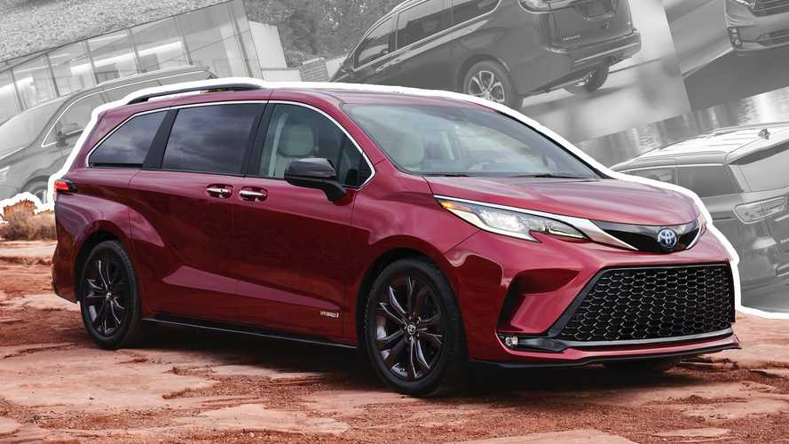 2021 Toyota Sienna Vs Chrysler Pacifica, Honda Odyssey, And Kia Sedona