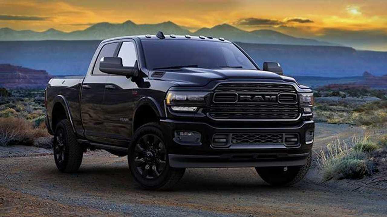 2020 Ram 2500 Black Front