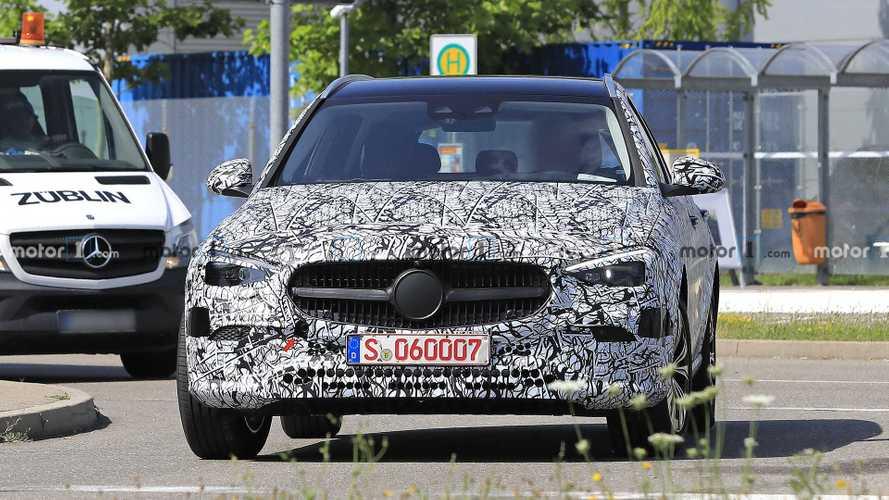 Nuova Mercedes Classe C Station Wagon, foto spia