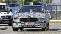 2021 Mercedes C-Class Estate spy photos