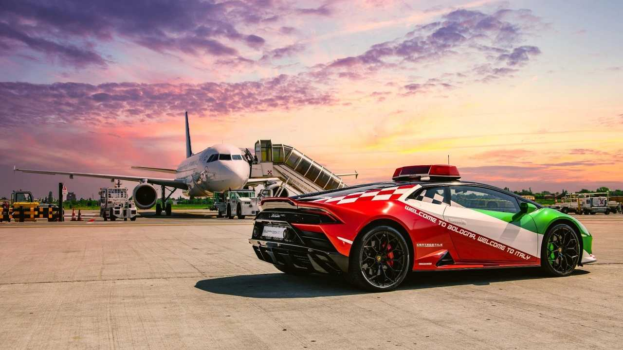 Lamborghini Huracan Evo Aeroporto Bologna