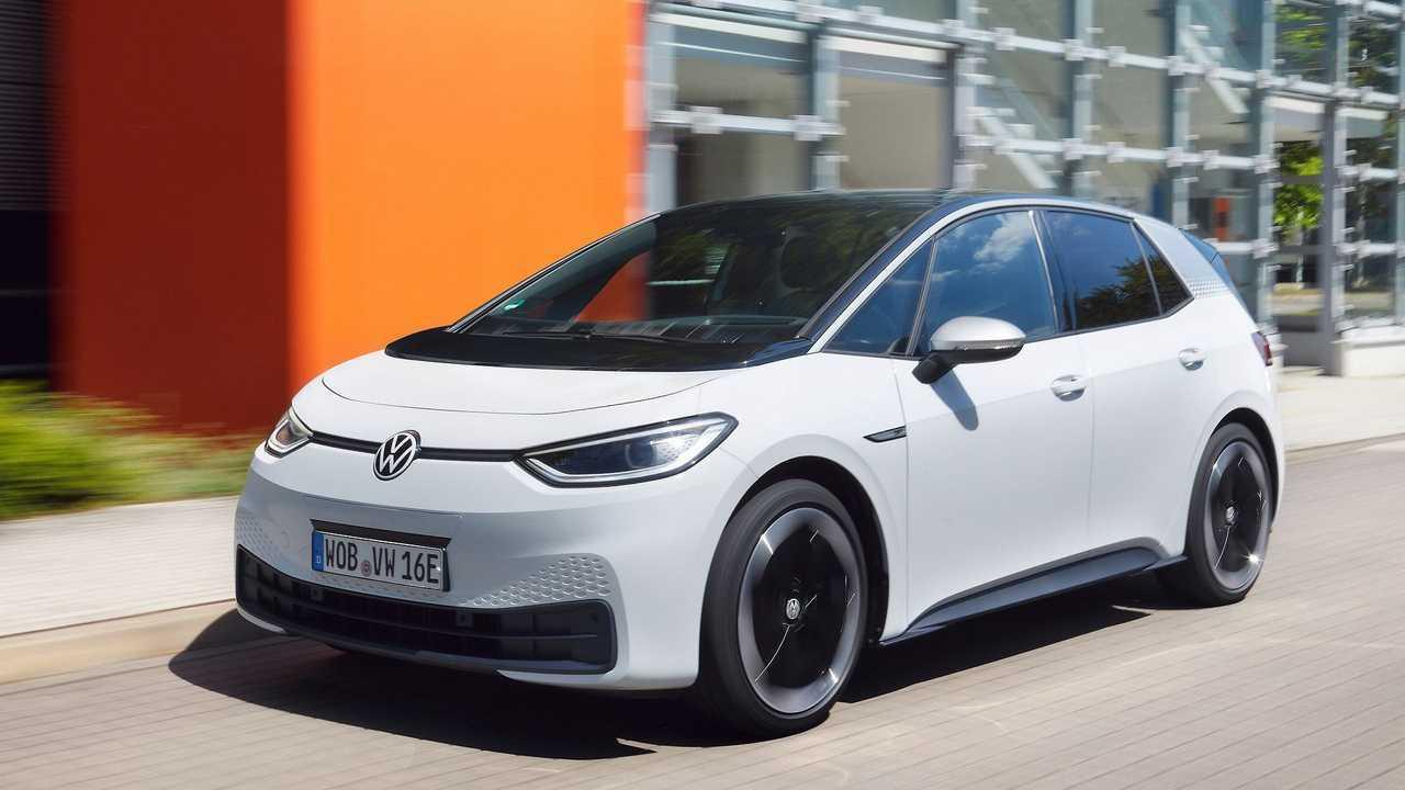 Volkswagen ID.3 (2020)  teste - branco destaque