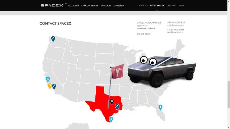 Tesla Chooses Texas As The Location To Manufacture The Cybertruck
