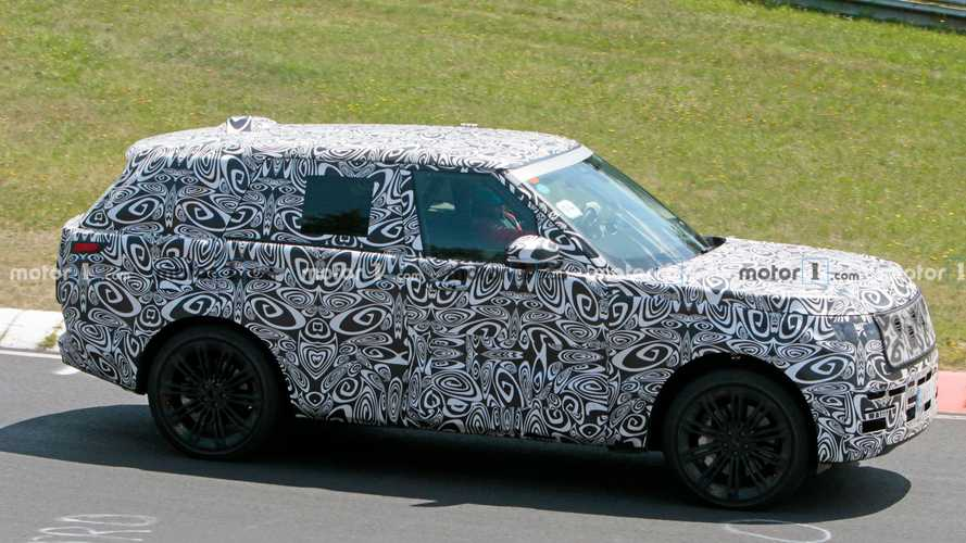 Next-gen Range Rover spied putting in the work on the Nürburgring