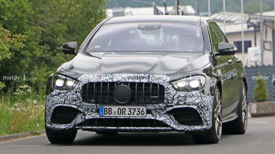 2021 Mercedes-AMG E63 Facelift Spied For The Umpteenth Time