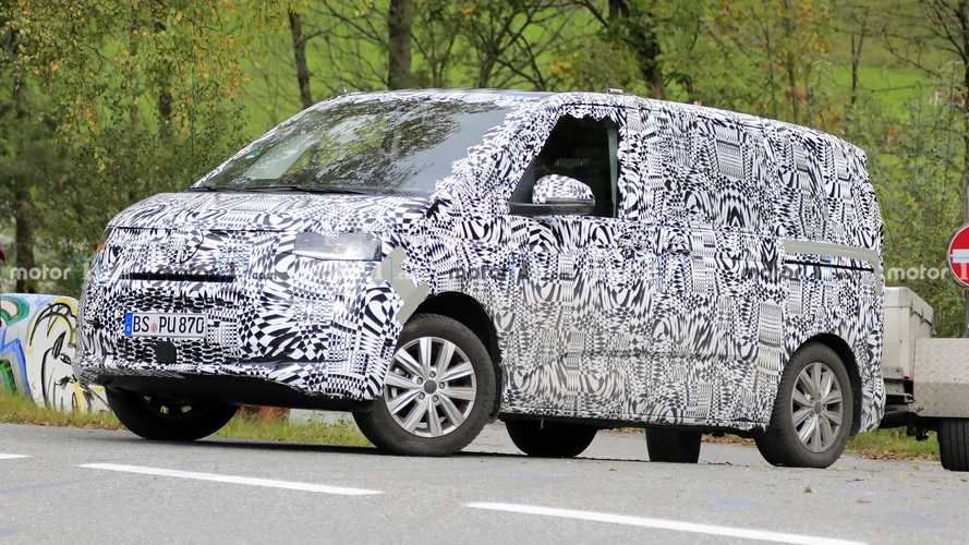 VW T7 new spy photos