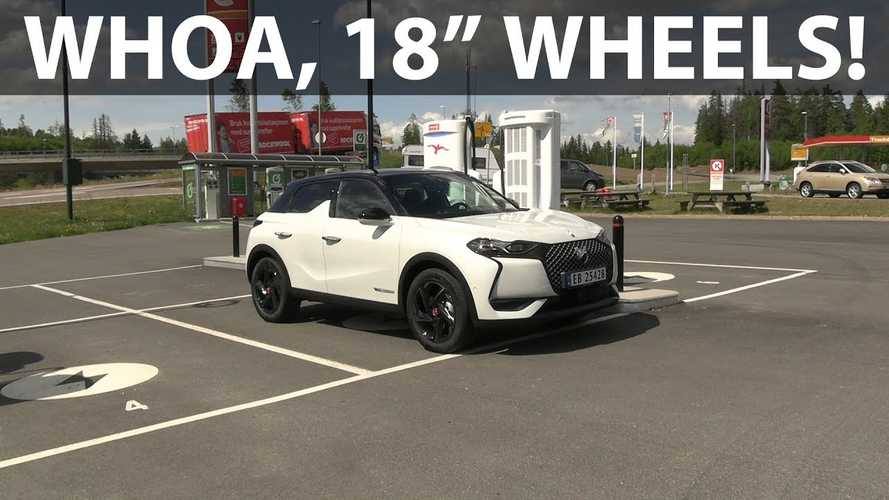 DS3 Crossback e-tense Electric Crossover Goes On Range Test In Norway
