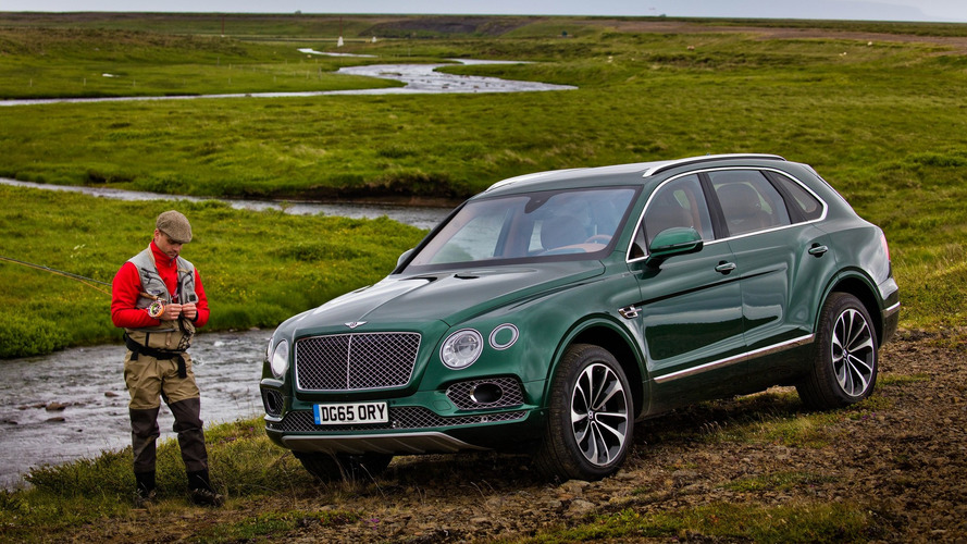 Le Bentley Bentayga Fly Fishing part à la pêche