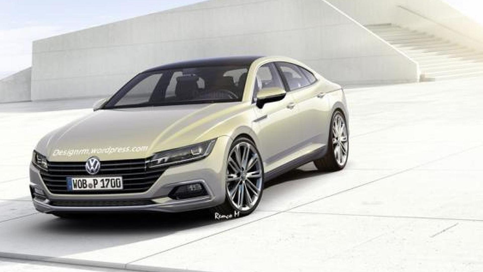 2021 The Next Generation VW Cc New Concept